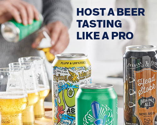 Host a Beer Tasting like a Pro