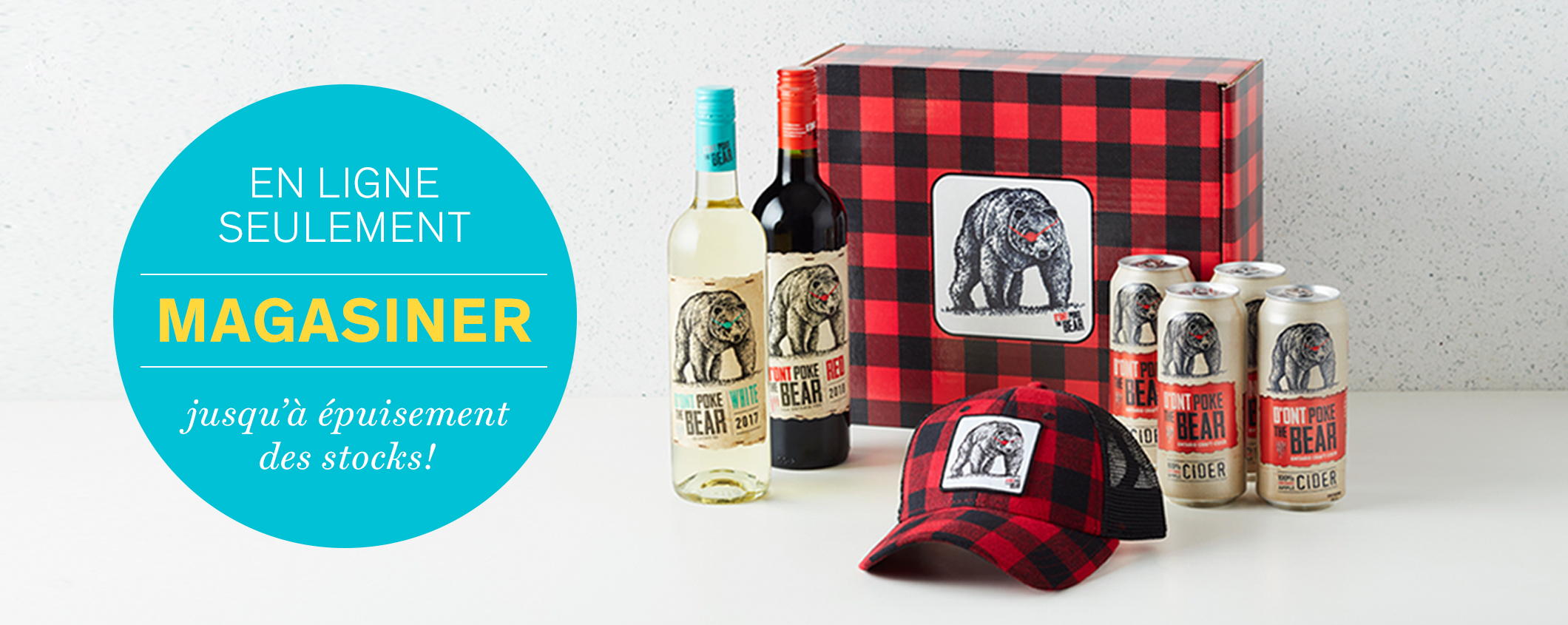 l'offre exclusive D'Ont Poke the Bear à LCBO.com