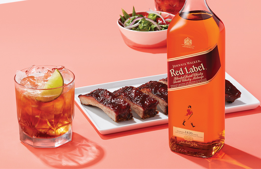 Johnnie and BBQ. Sounds like a plan.