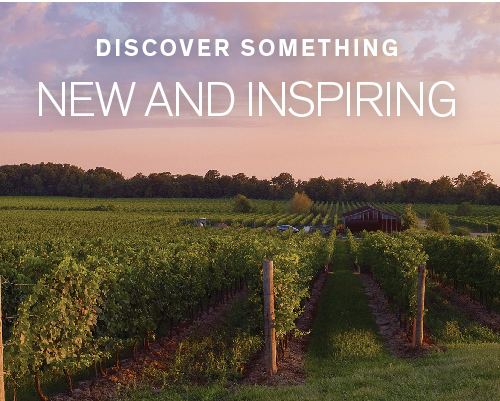 Discover something new and inspiring.