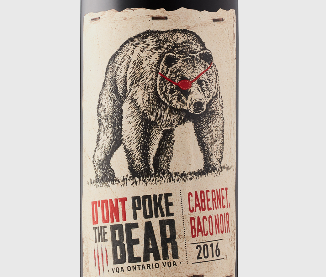 D'Ont Poke The Bear Red VQA