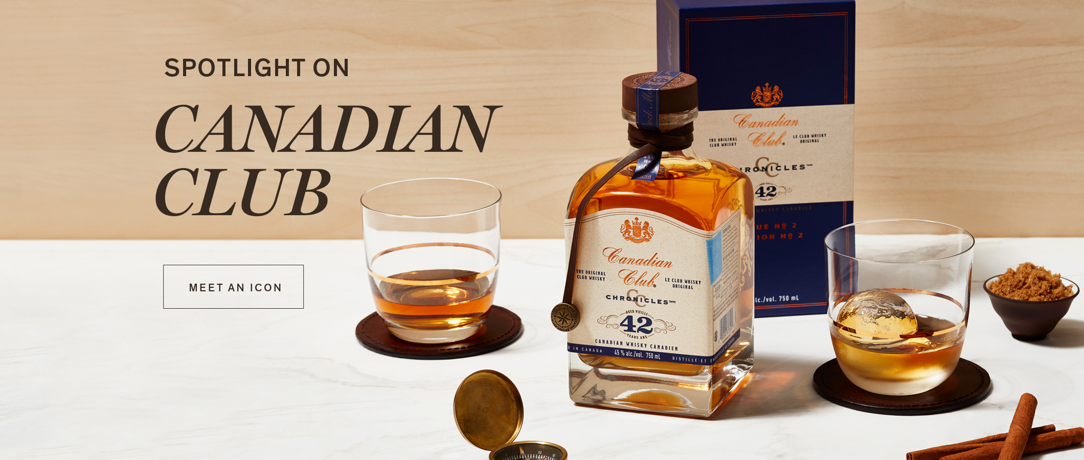 Spotlight On Canadian Club,  MEET AN ICON