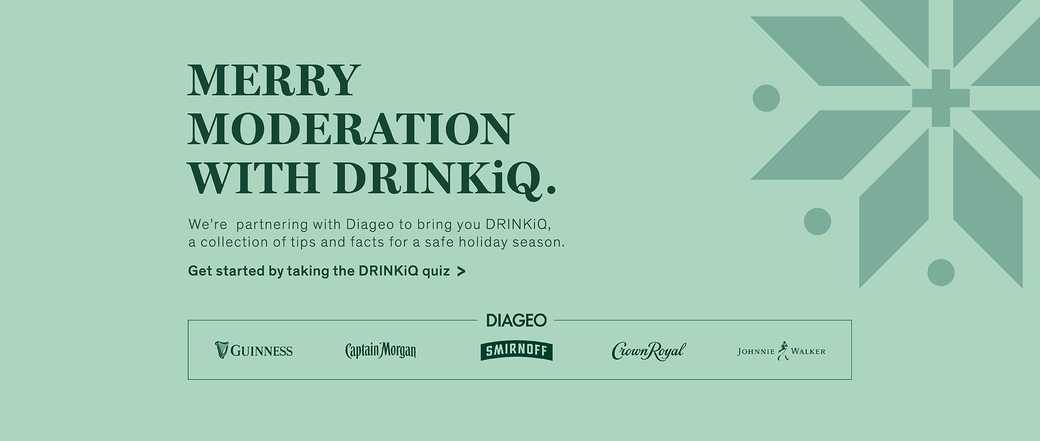 Merry Moderation with DrinkiQ