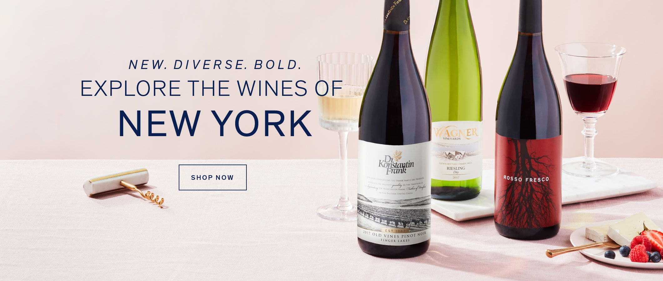 Explore the Wines of New York