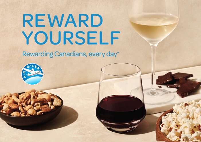 REWARD YOURSELF: REWARDING CANADIANS, EVERY DAY.