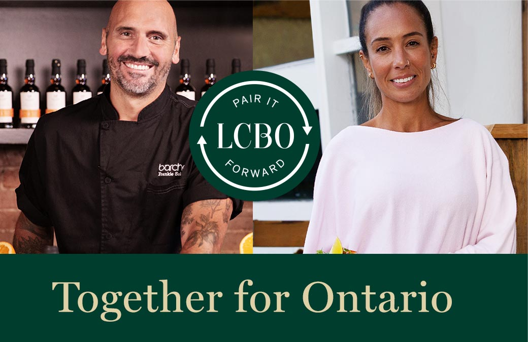 PAIR IT FORWARD: Together for Ontario. Learn More.