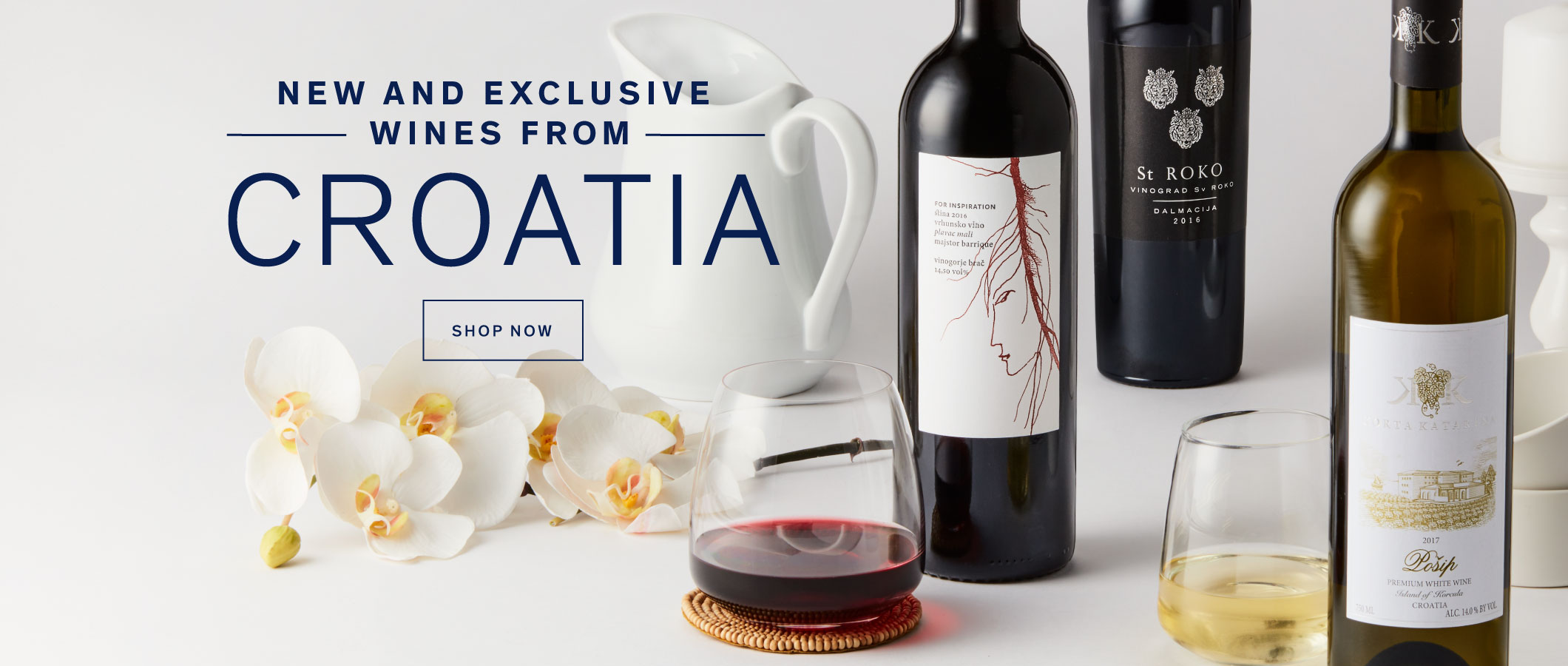 New and Exclusive Wines from Croatia. Shop Now