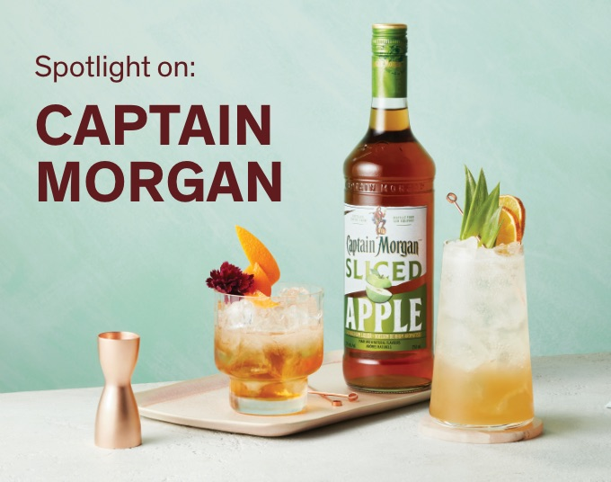 Shop a selection of Captain Morgan products
