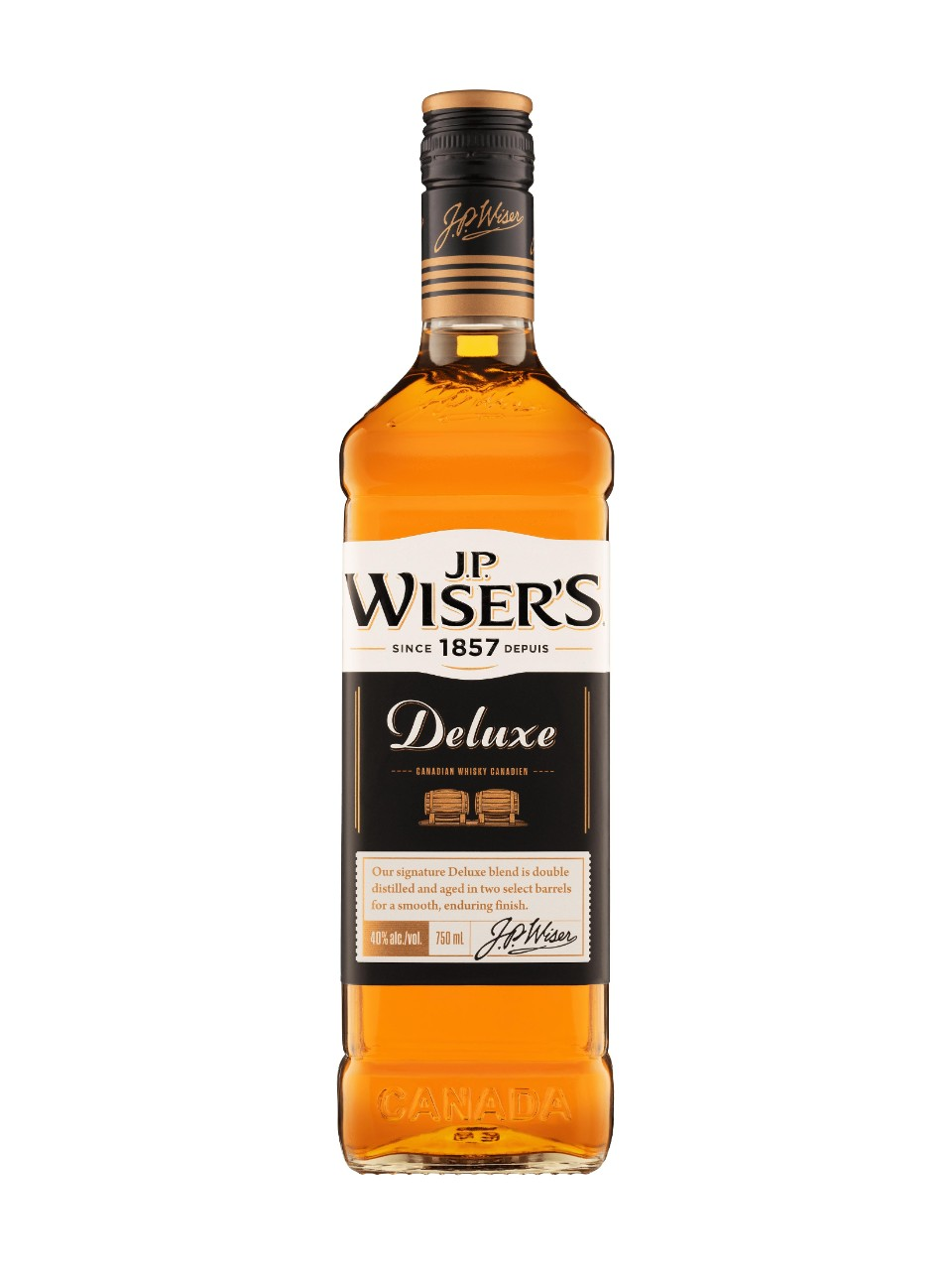 Whisky canadien J.P. Wiser's Deluxe