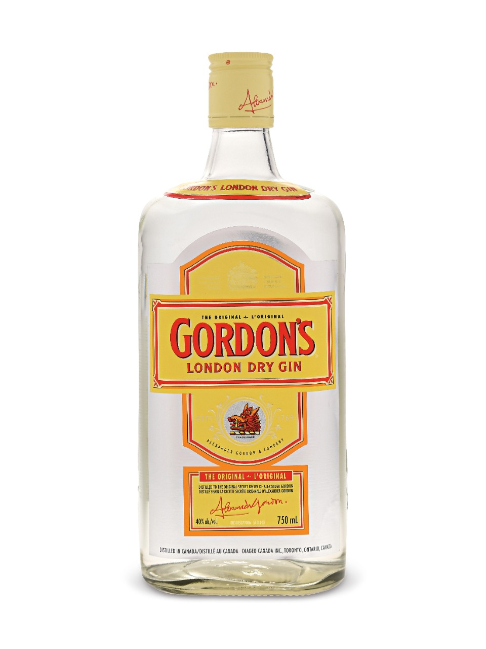 Image for Gordon's Dry Gin from LCBO
