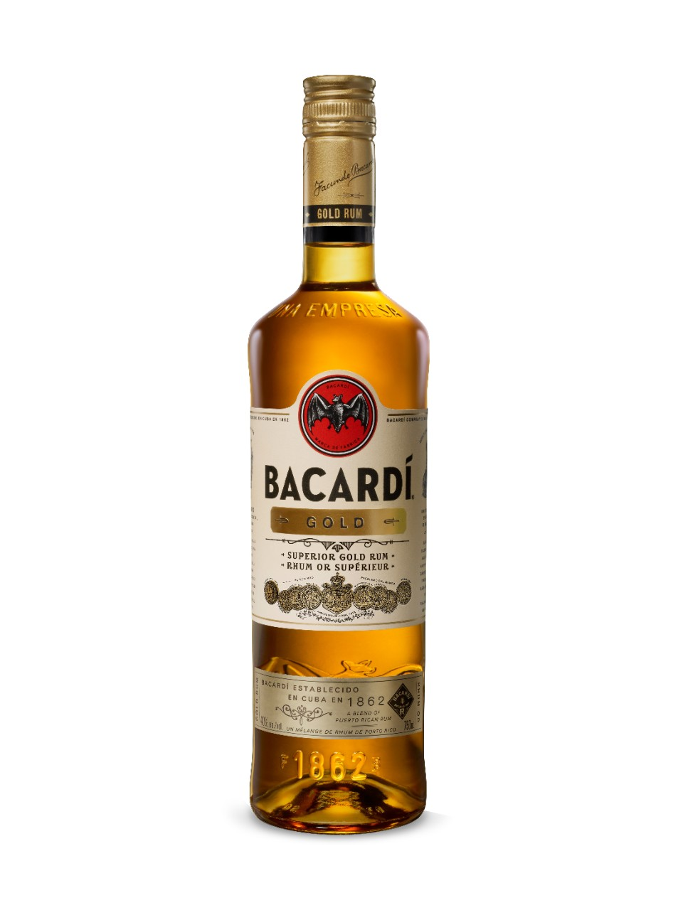 Image for Bacardi Gold Rum from LCBO