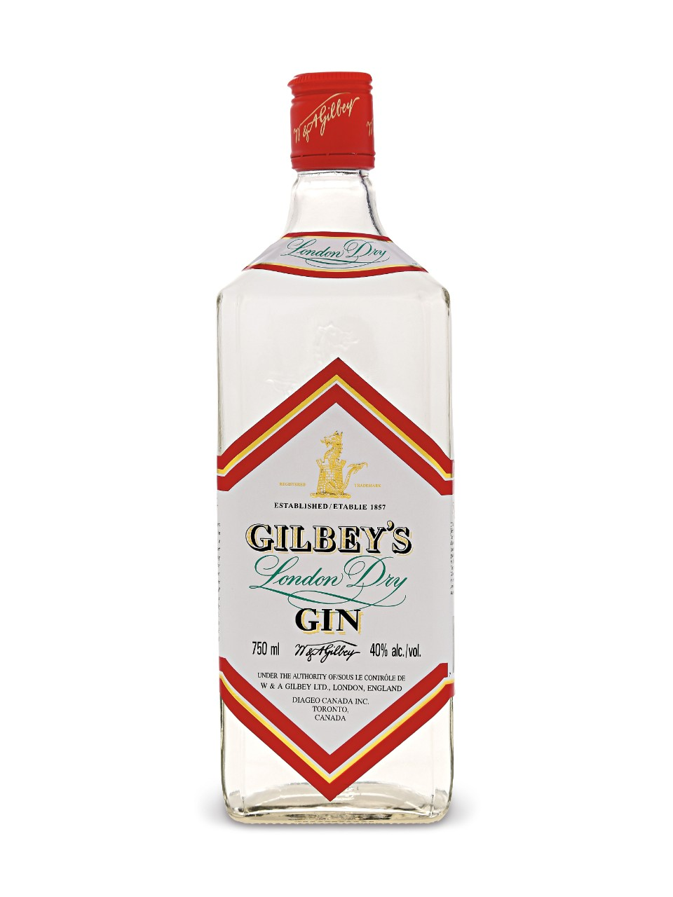 Image for Gilbey's London Dry Gin from LCBO
