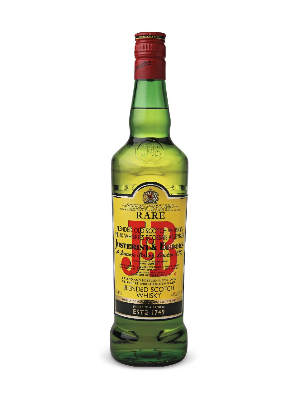 J & B Rare Scotch Whisky from LCBO