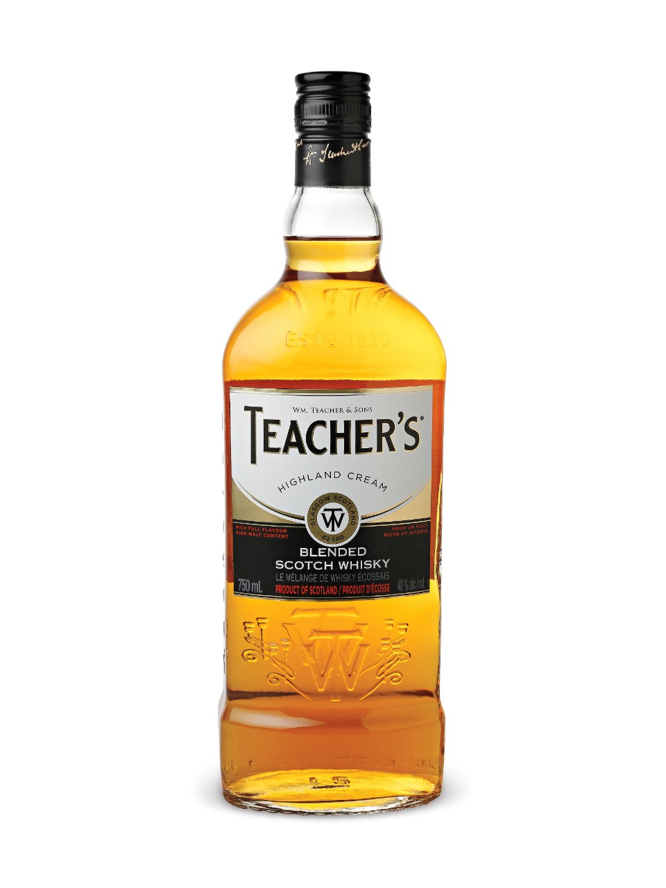 Image for Teacher's Highland Scotch Whisky from LCBO