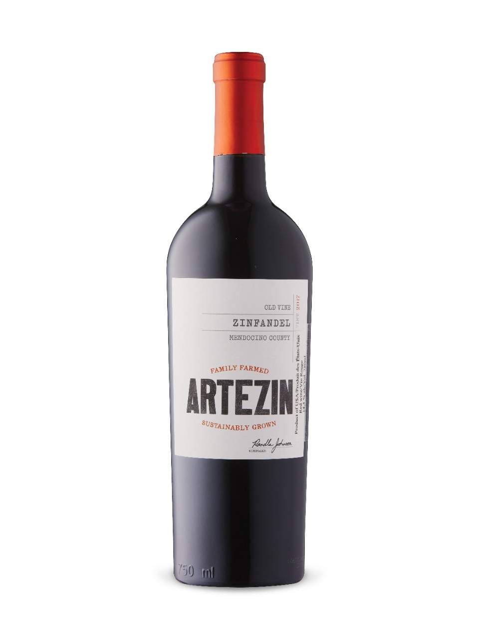 Artezin Old Vine Zinfandel 2017 from LCBO