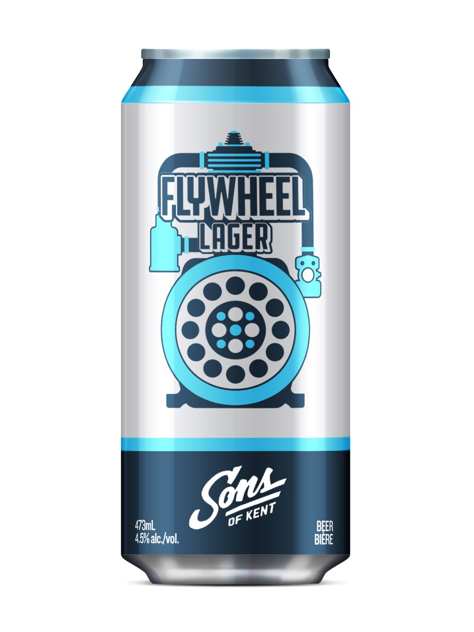 Sons of Kent Flywheel Blonde Lager from LCBO