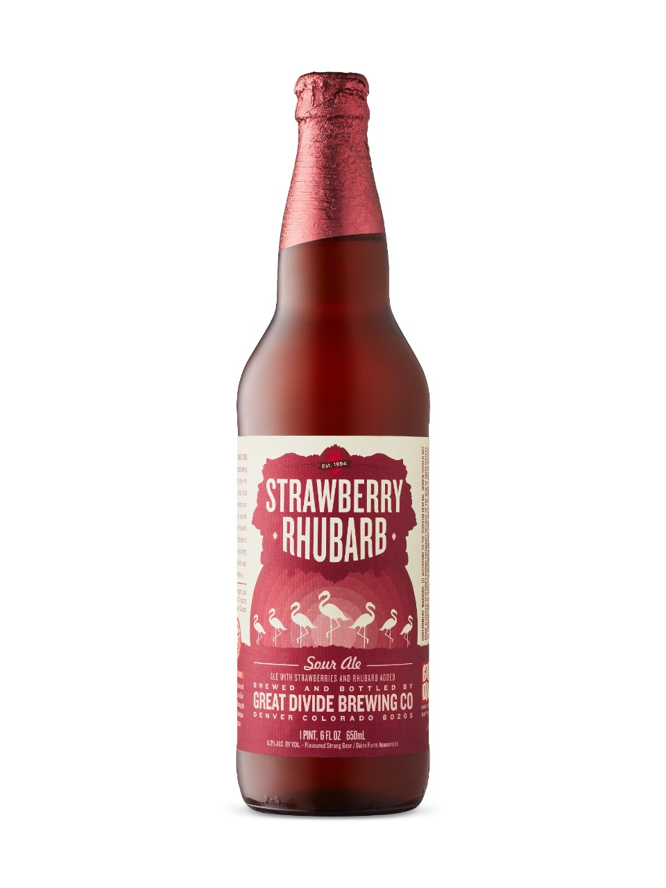 Image for Strawberry Rhubarb Sour Ale from LCBO