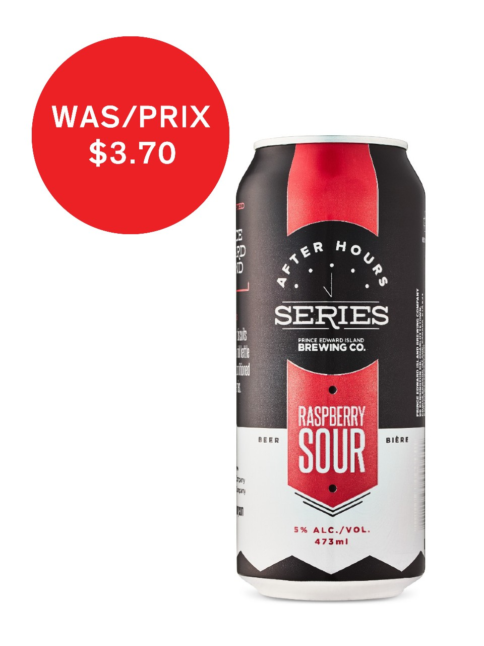 Image for PEI Brewing After Hours Raspberry Sour from LCBO