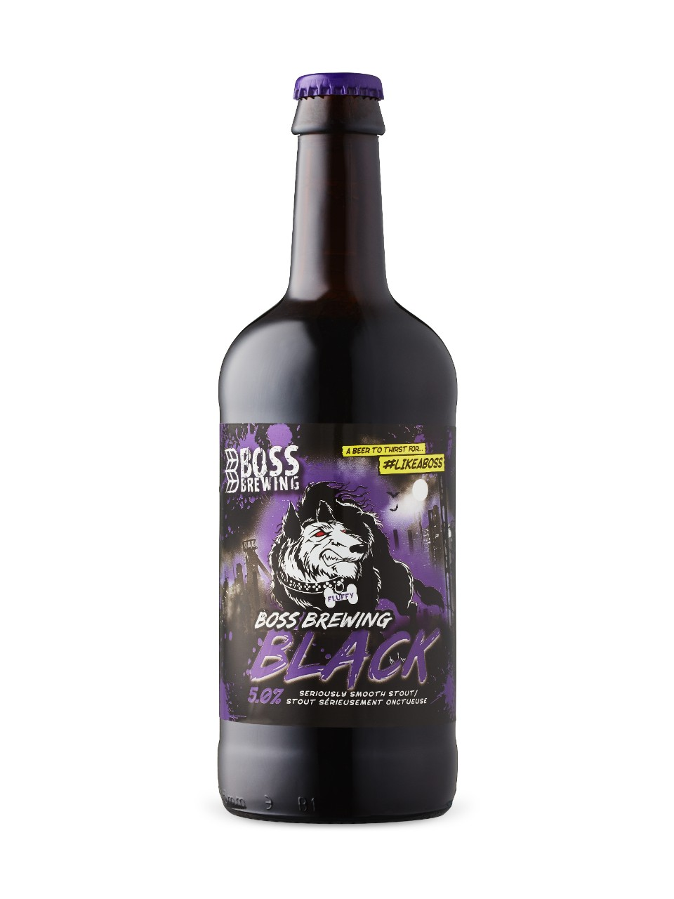 Boss Brewing Company Black Stout from LCBO