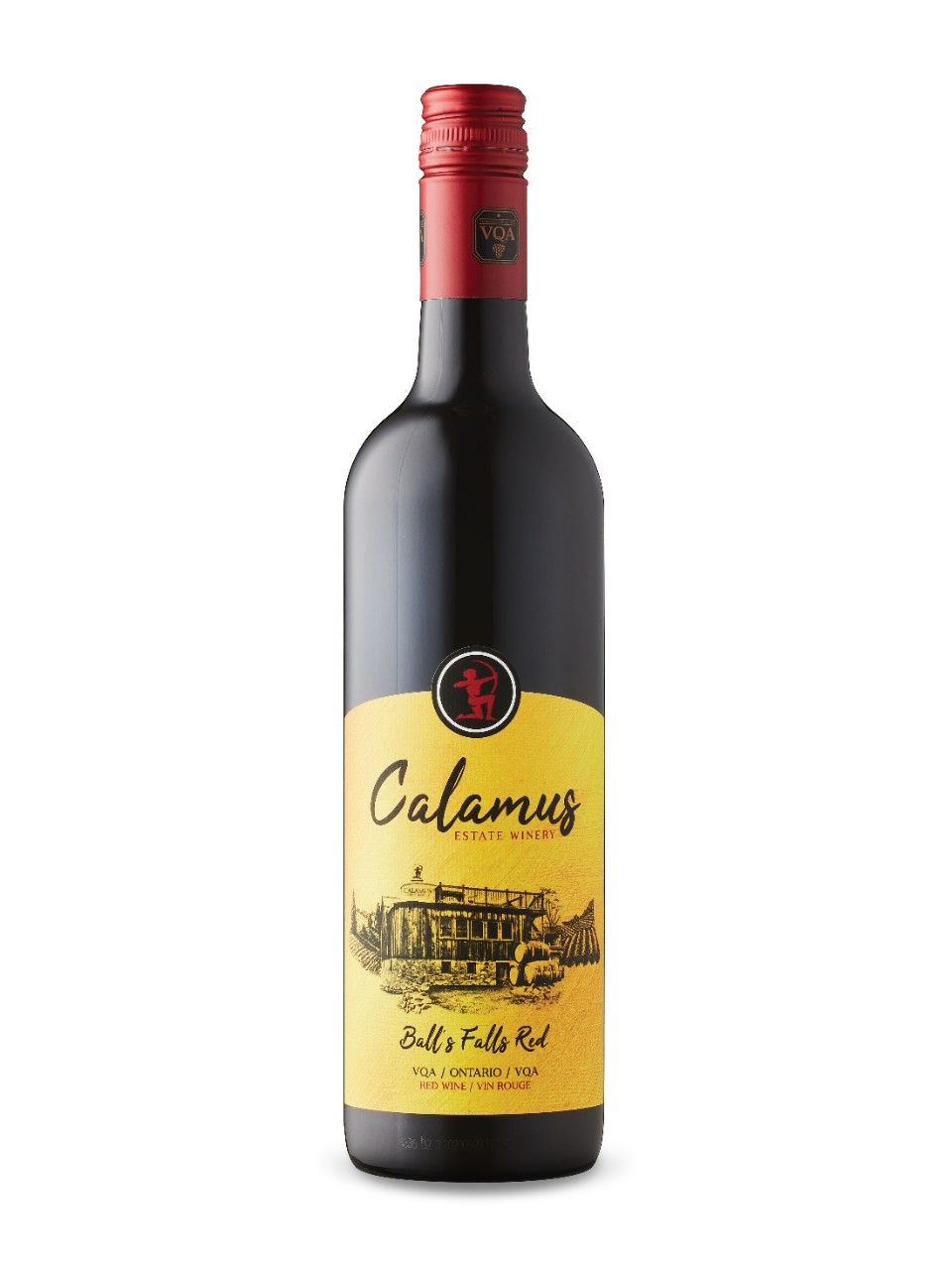 Image for Calamus Ball's Falls Red 2017 from LCBO