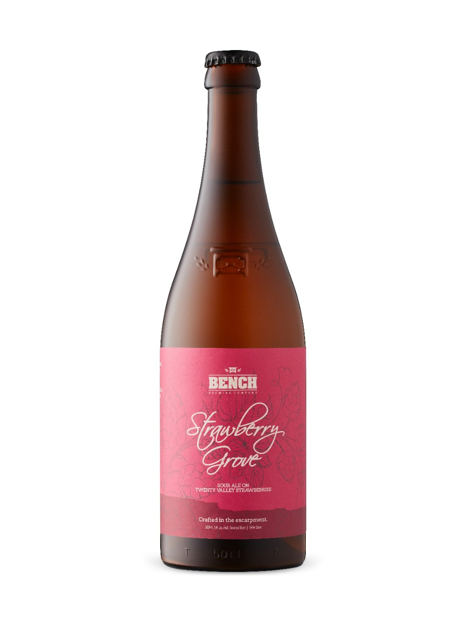 Image for Bench Brewing Strawberry Grove Sour Ale from LCBO