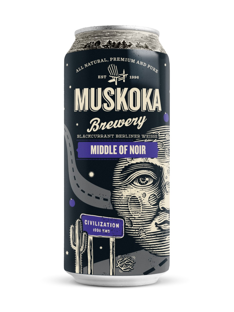 Image for Muskoka Brewery Middle of Noir from LCBO