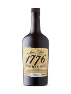 James E Pepper 1776 Straight Rye