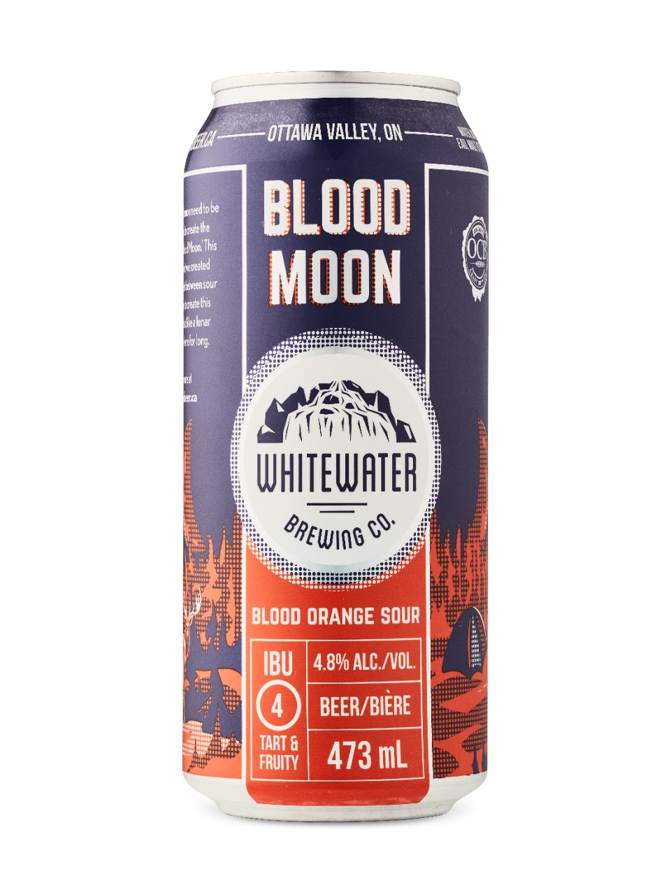 Image for Whitewater Brewing Blood Moon Orange Sour from LCBO
