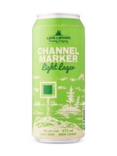 Lake of the Woods Channel Marker Light Lager