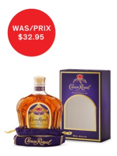 Crown Royal Deluxe Bag and Box