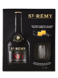 St. Remy XO 2 Glass Giftlpack
