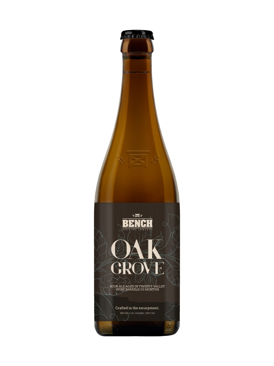 Image for Bench Brewing Oak Grove Sour Ale from LCBO