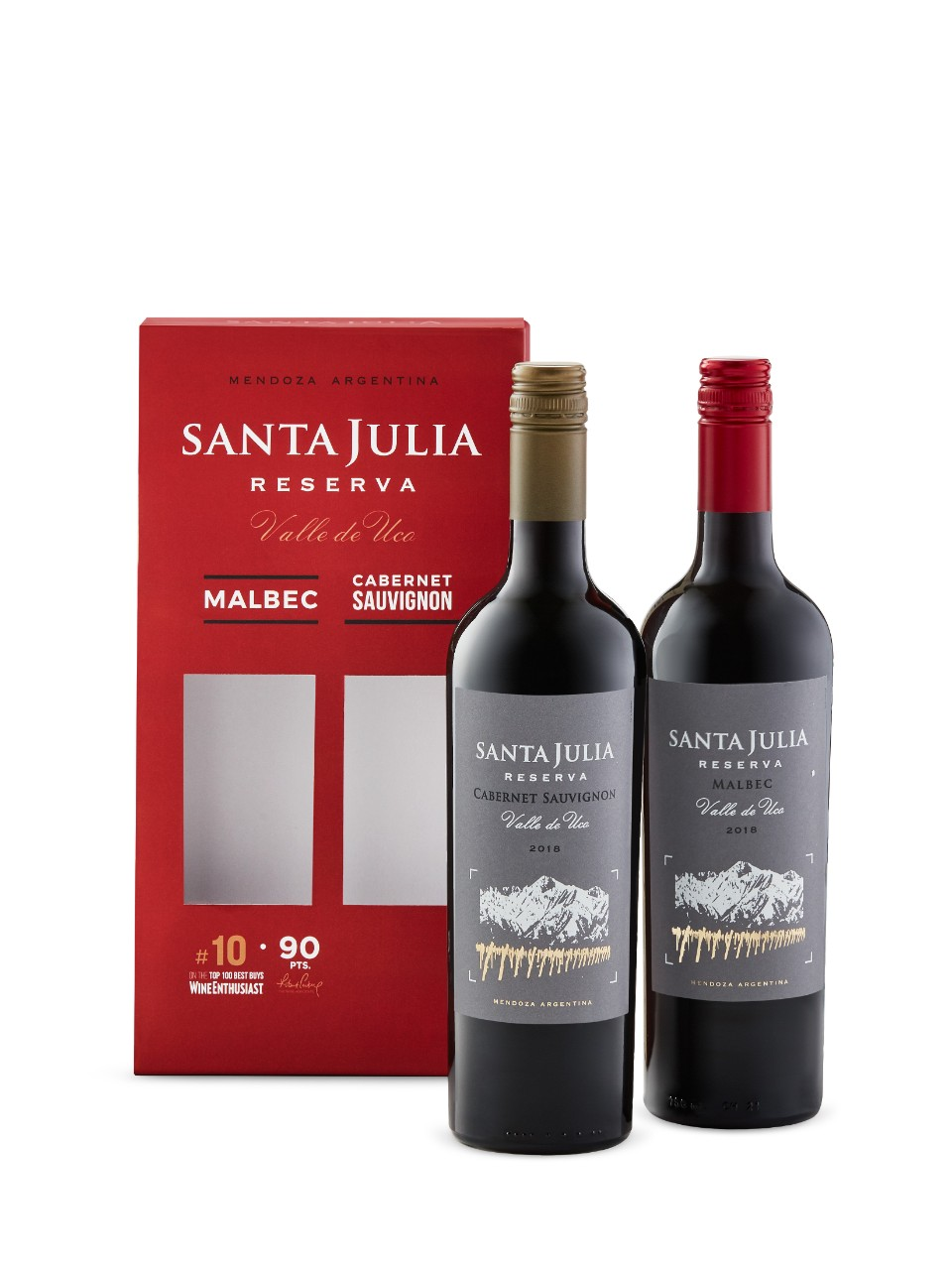 Image for Santa Julia Reserva Duo Gift Pack 2 x 750mL from LCBO