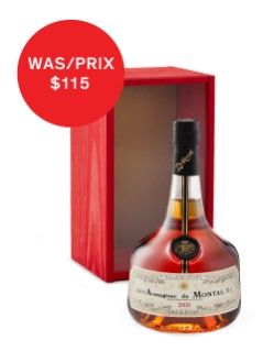 Armagnac de Montal 2001 Bas Armagnac in Gift Box