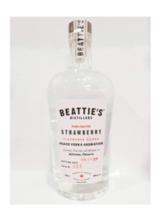 Beattie's Farm Crafted Strawberry Flavoured Vodka