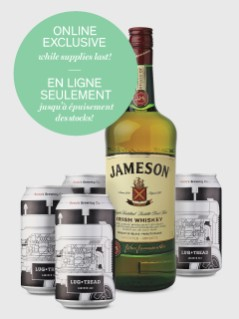 Jameson With Beau's Beer Online Exclusive