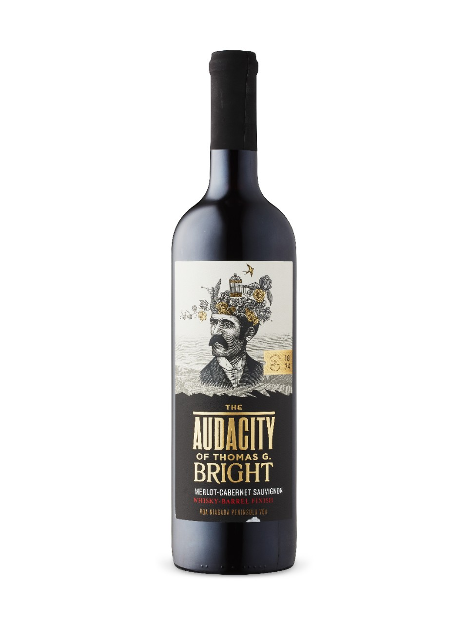 The Audacity of Thomas G. Bright Merlot Cabernet VQA from LCBO