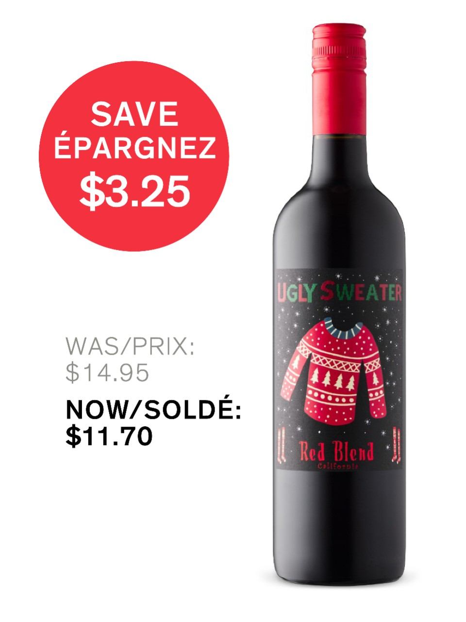 Image for Ugly Sweater Red Blend from LCBO