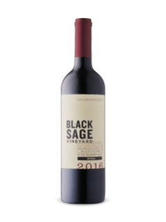 Black Sage Vineyard Shiraz 2016