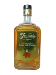 Glen Breton Rare Canadian Single Malt Whisky 19 ans d'âge