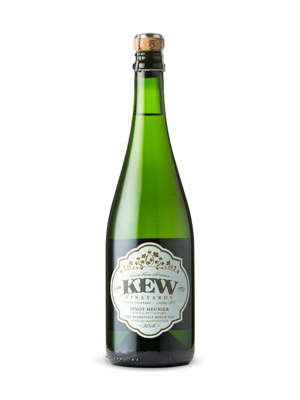 Image for Kew Vineyards Pinot Meunier Brut Natural 2016 from LCBO