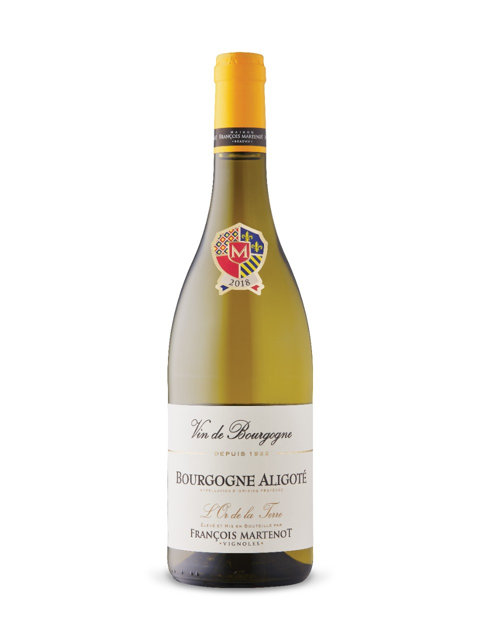 Image for François Martenot L'Or de la Terre Bourgogne Aligoté 2018 from LCBO