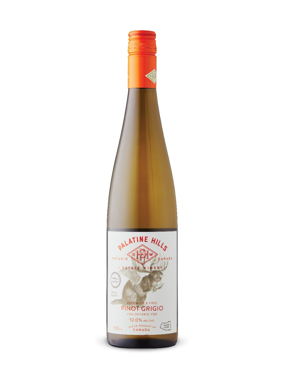 Palatine Hills Wild and Free Pinot Grigio 2017 from LCBO
