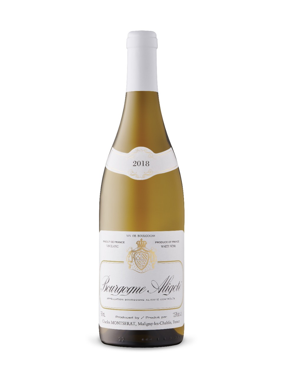 Image for Charles Montserat Bourgogne Aligoté 2018 from LCBO