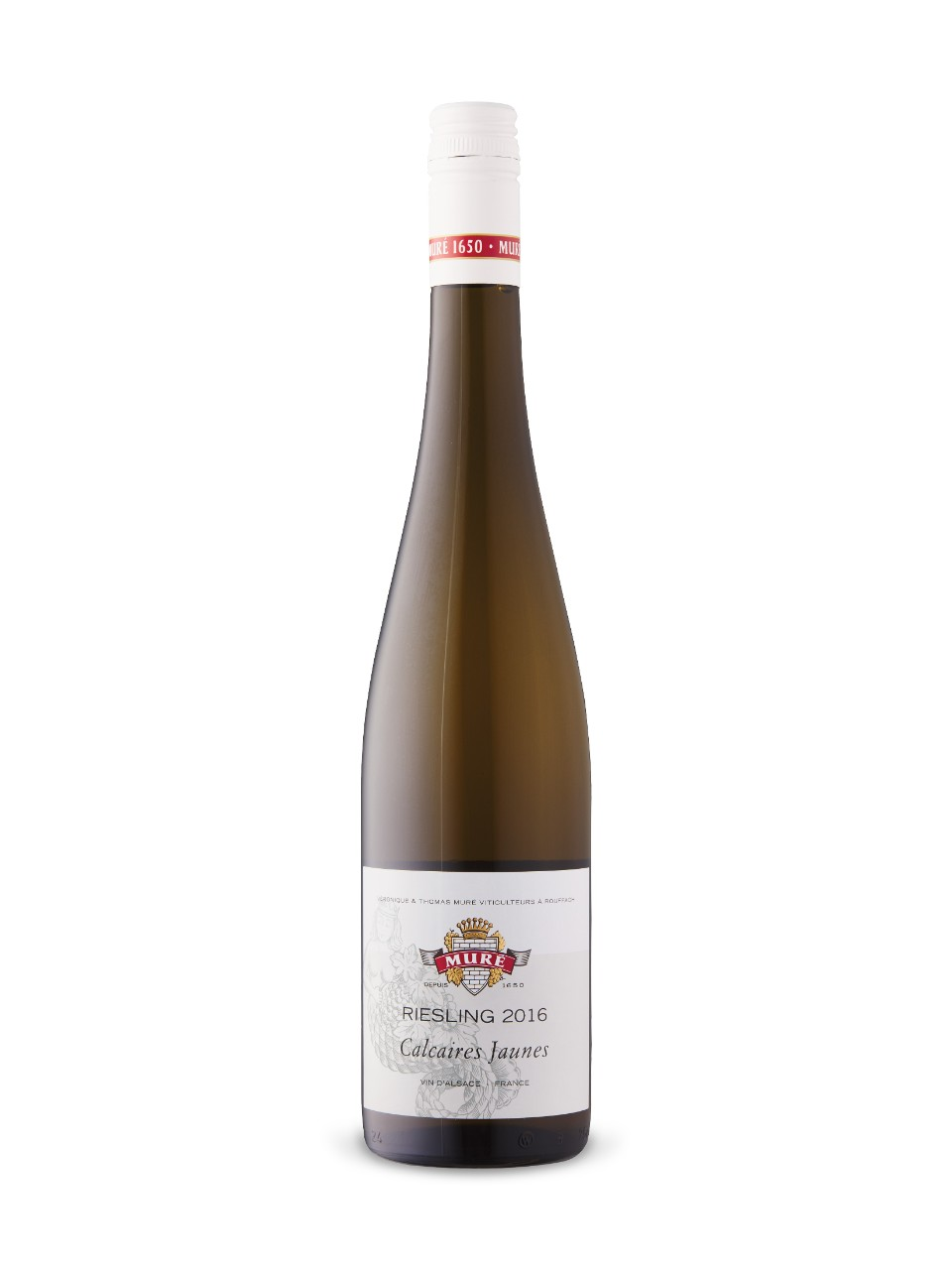 Image for Muré Calcaires Jaunes Riesling 2016 from LCBO