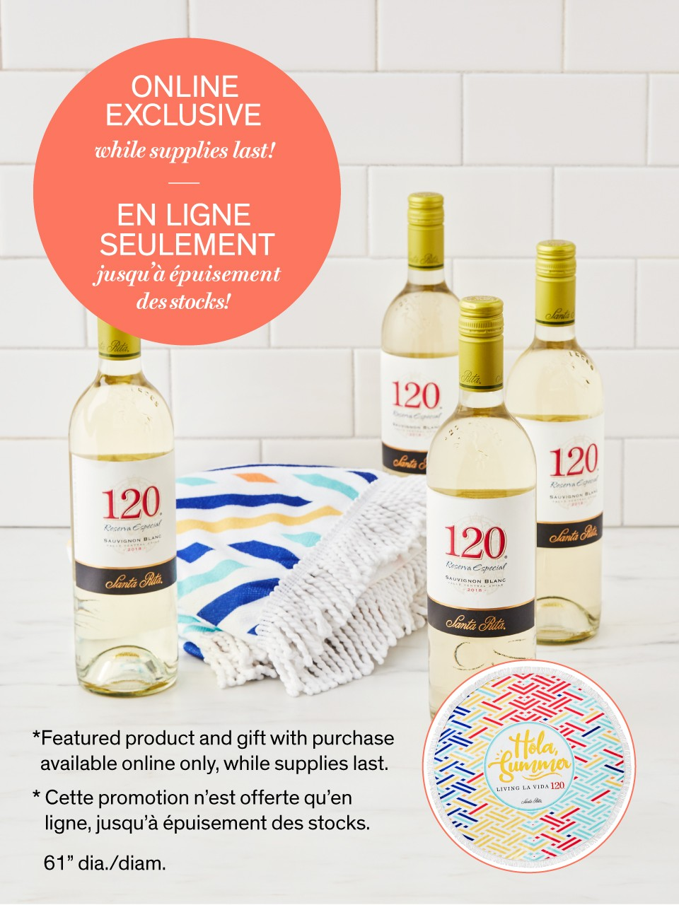 Image for Santa Rita 120 Sauvignon Blanc Wine Special Offer from LCBO