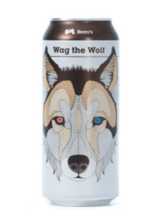 Beau's Wag the wolf white IPA
