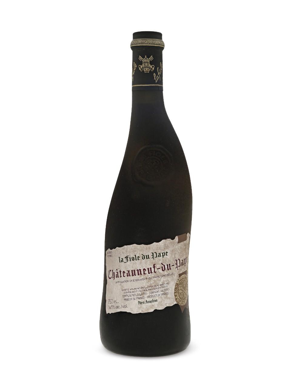 Fiole du Pape wine bottle