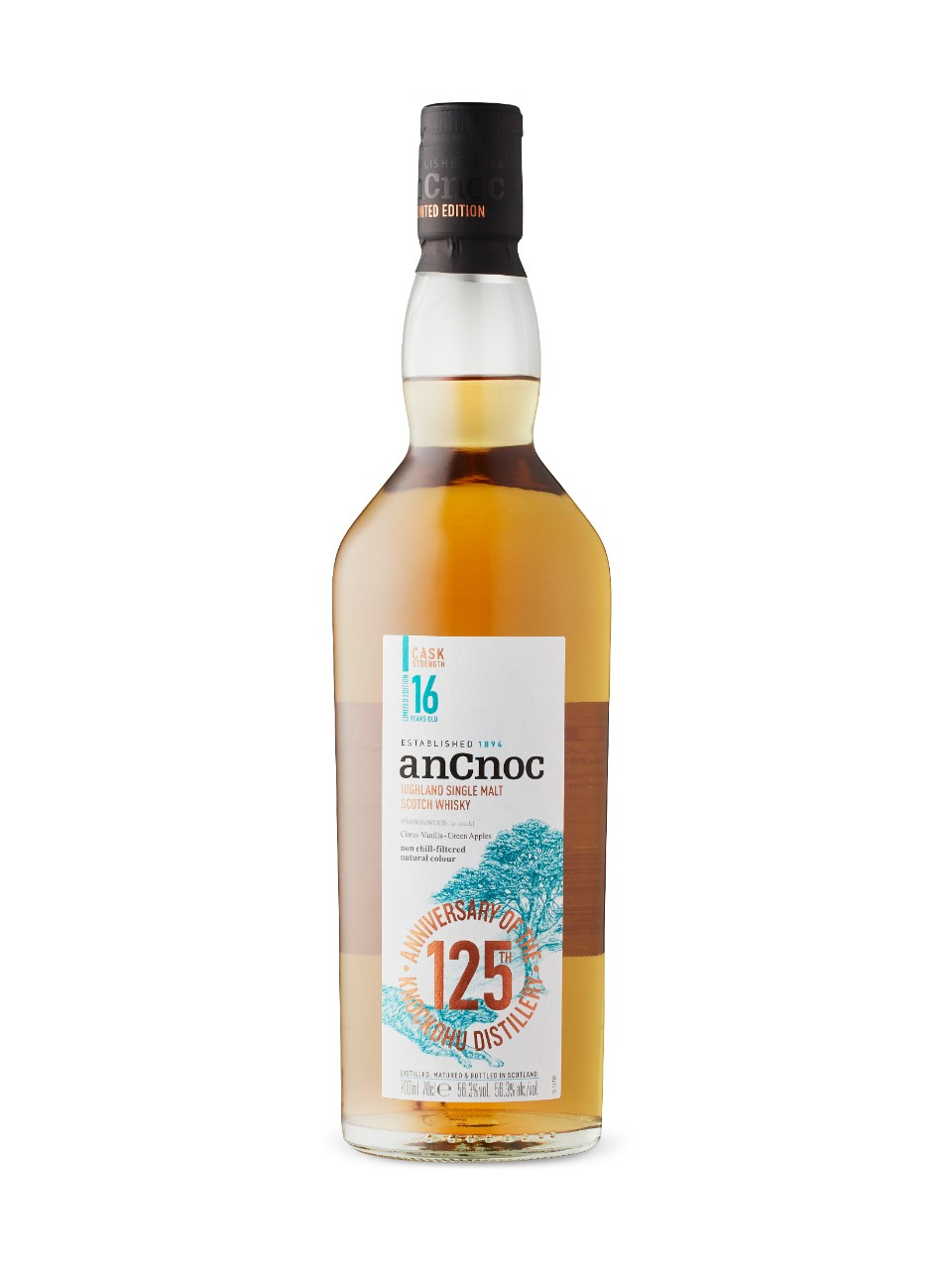 Image for Ancnoc 16YO Strength Single Malt Whisky from LCBO
