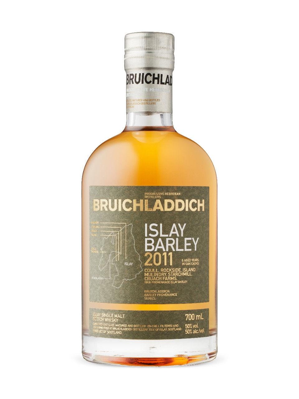 Image for Bruichladdich Islay Barley 2011 from LCBO